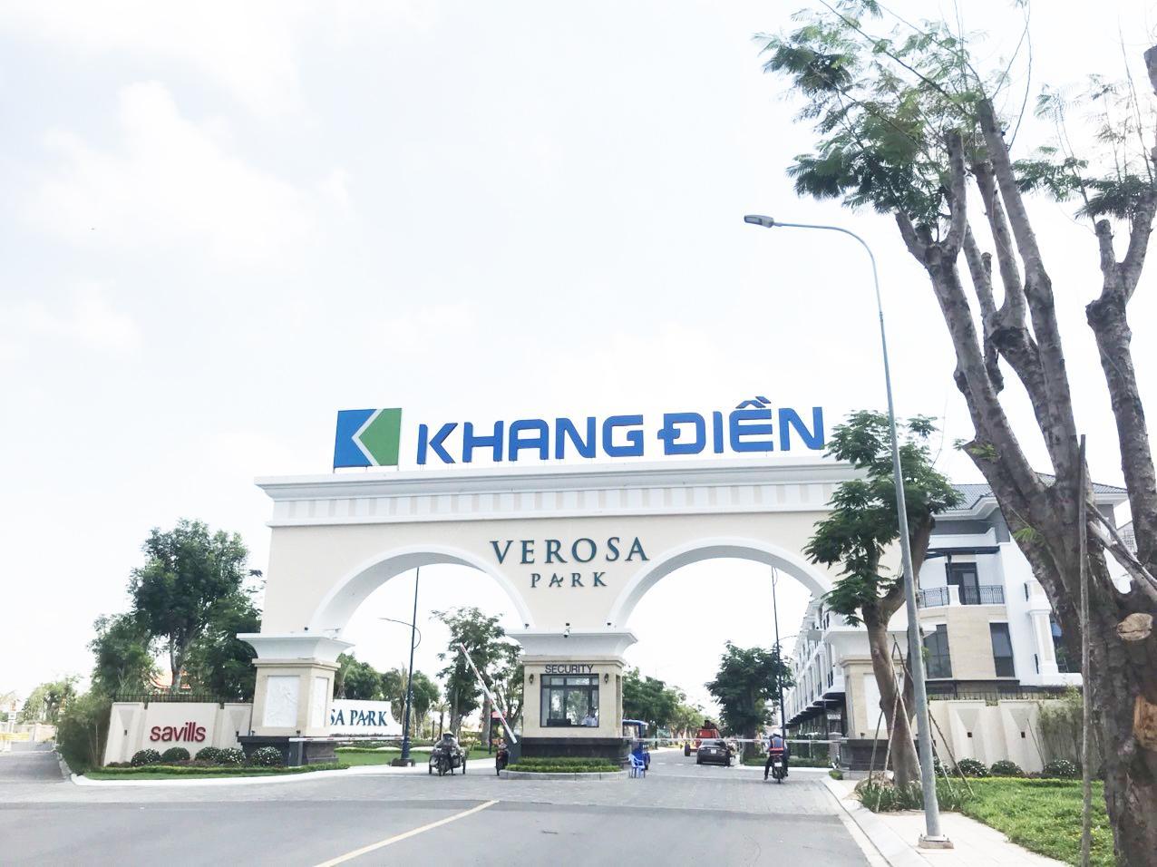dự án xe nâng người tại Khang Điền